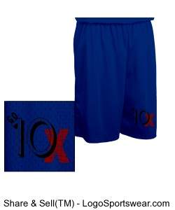 Go 10X Basketball Shorts Design Zoom